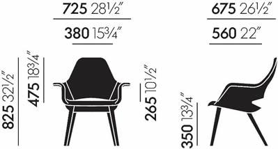 vitra-organic-chair-abmessungen