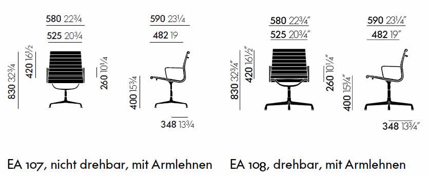 vitra-aluminium-chair-ea-107-ea-108-abmessungen