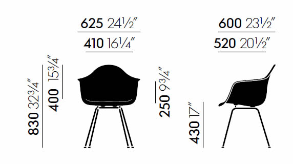 vitrea-dax-eames-plastic-chair-abmessungen