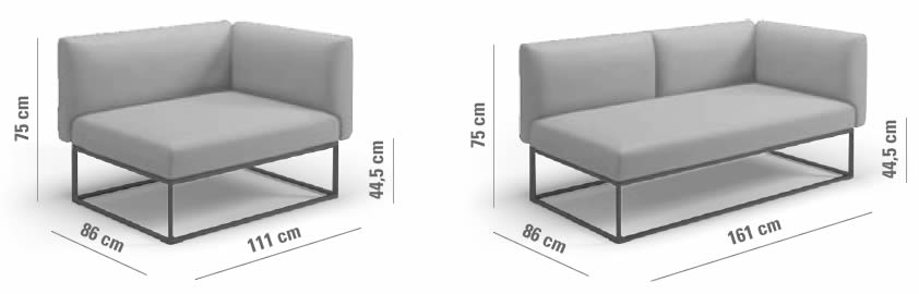 gloster-maya-lounge-end-unit-left-right-abmessungen