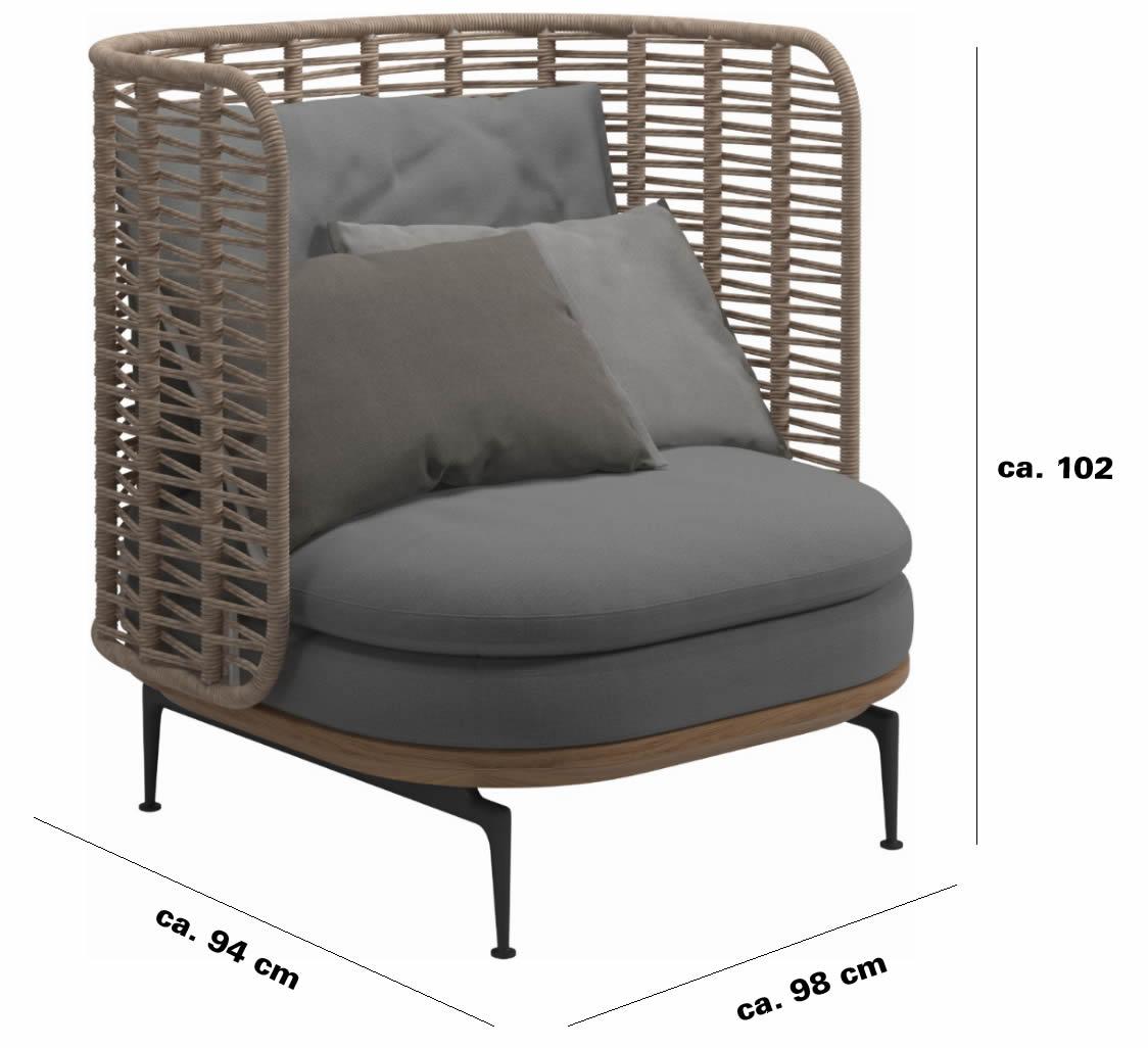 gloster-Mistral-lounge-chair-abmesungen