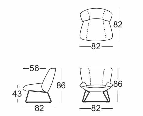 rolf-benz-sessel-383-abmessungen