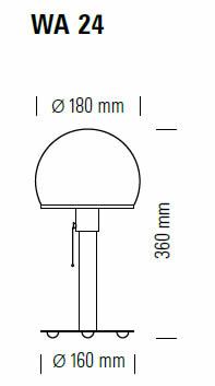 tecnolumen-wagenfeld-leuchte-wa24-abmessungen