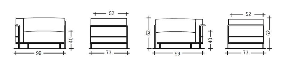 cassina-lc3-sessel-abmessungen