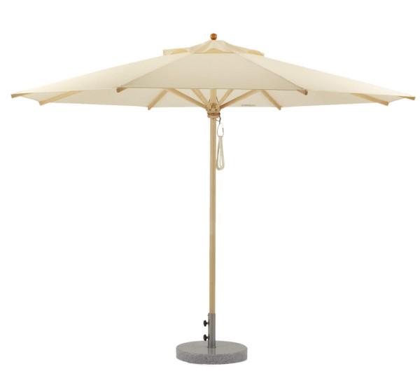 Klassiker Sonnenschirm mit Flaschenzug