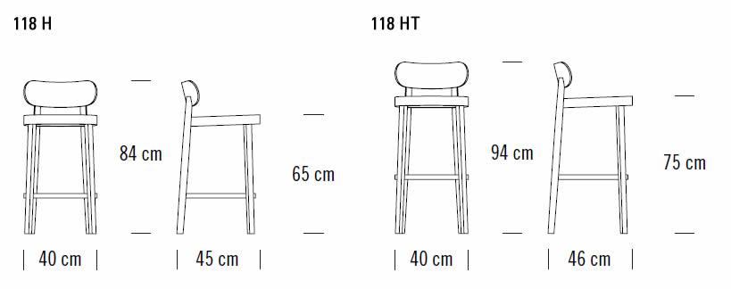thonet-118-h-thekenstuhl-abmessungen