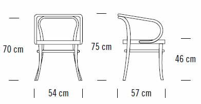 thonet-209-bugholzstuhl-abmessungen