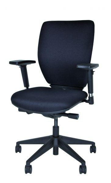 DSO Bürodrehstuhl Optime gepolsterte, verstellbare Rückenlehne