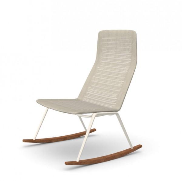 Zebra Knit Rocking Chair Schaukelstuhl