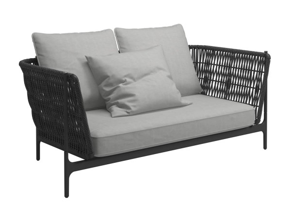 Grand Weave Lounge Zweisitzer Sofa